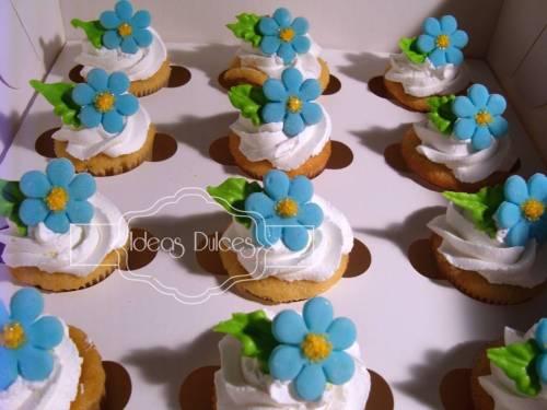 Minicupcakes para el pedido de Ma. Lucía