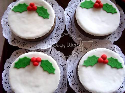 Tortas de Navidad para el pedido de Catalina