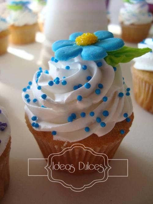 Mini-cupcake de Vainilla-Limón