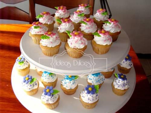 Mini-cupcakes para el Cumpleaños de Nidia
