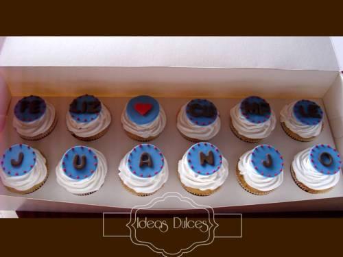 Caja x 12 cupcakes de Cumpleaños