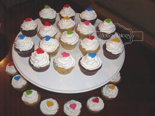 Cupcakes para el Aniversario de Mónica