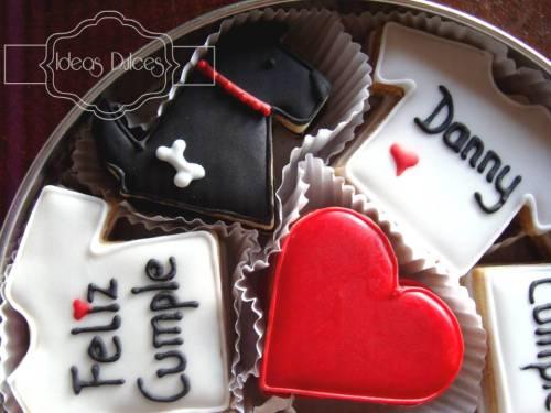 Detalle Caja de Galletas decoradas para el cumpleaños de Danny