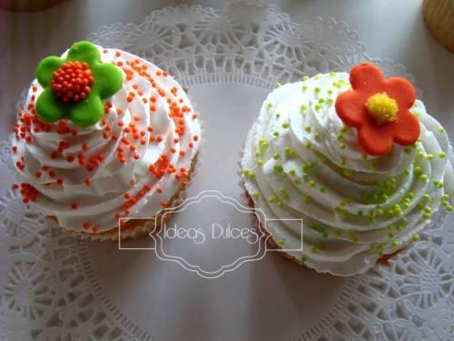 Detalle de los cupcakes para el cumpleaños de la hija de Stella