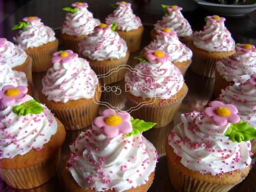Los cupcakes para el Baby Shower de Camila