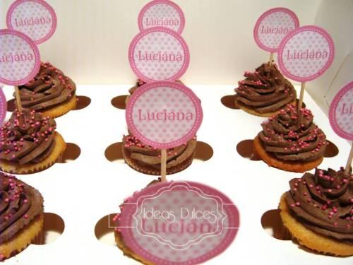 Cupcakes para el Baby Shower de Luciana