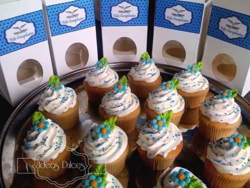Cupcakes para cumpleaños mujeres - Agencia  Logística