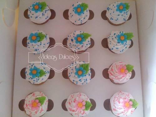 Caja de Mini-Cupcakes para el pedido de Carolina