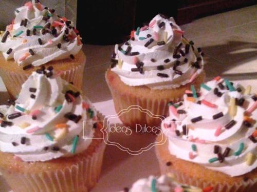 Cupcakes para el cumpleaños del hijo de Stella