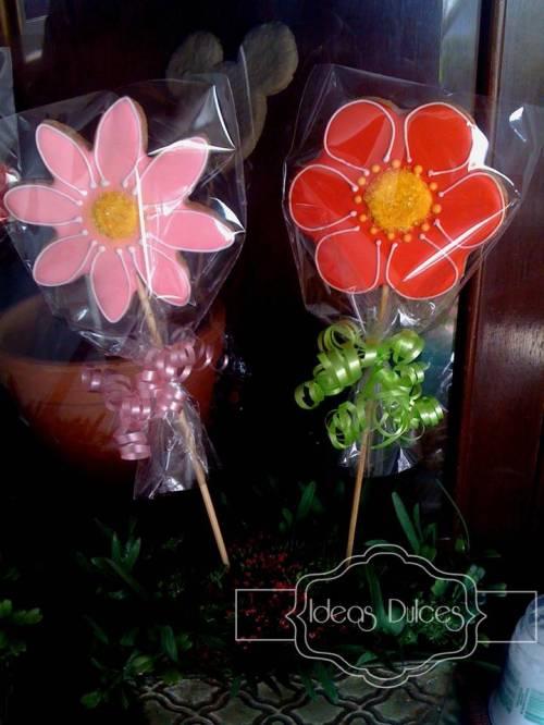 Galletas para celebración del Dia de la Mujer en DIMITRI YEPEZ