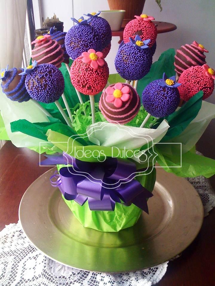 Arreglo De Cake Pops Para La Reunic3b3n De Pilar 1