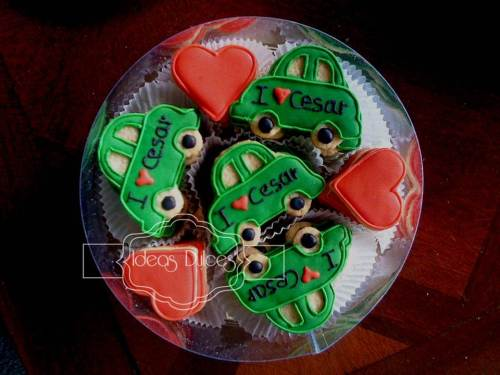 Caja galletas para regalar a Cesar