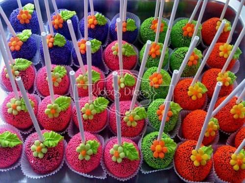 Cake  Posps para Fiesta temática DORA LA EXPLORADORA para el cumple de Sofía
