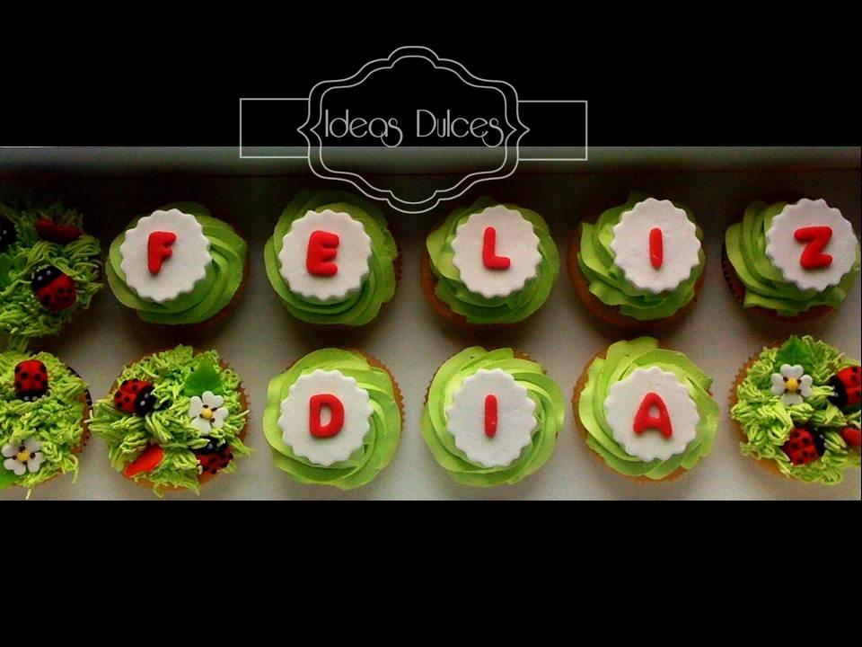 Cajas de Cupcakes con mensaje para los regalos de Carlos | Ideas
