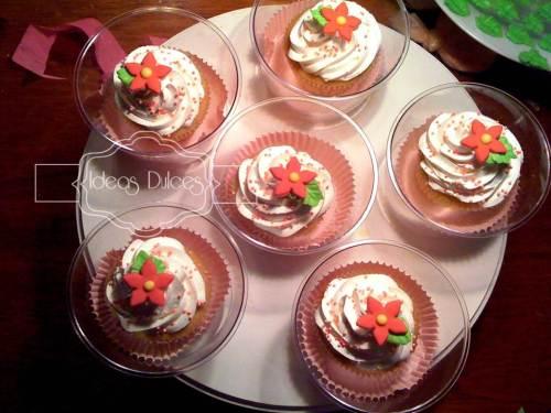 Cupcakes para de reunión de amigas de Ingrid