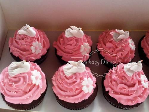 Cupcakes para la Primera Comunión de la hija de Tatiana