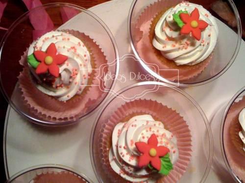 Detalle Cupcakes para de reunión de amigas de Ingrid