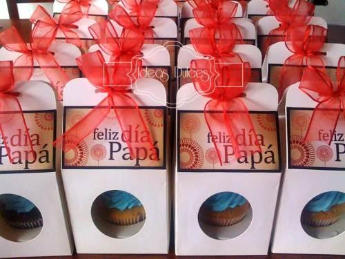 Cupcakes Dia del Padre para Tisat Logistics y Linea Data