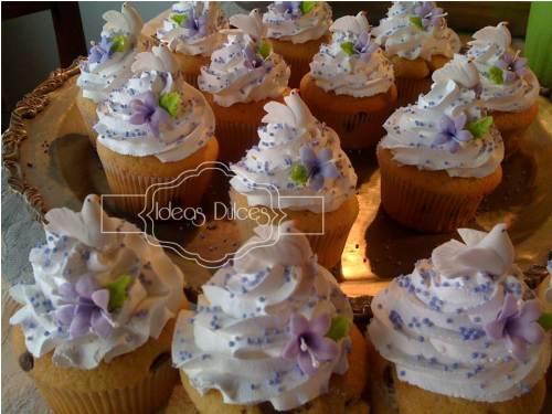 Cupcakes para la Primera Comunión de Sarah