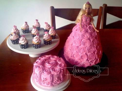 Fiesta temática Barbie para el cumpleaños de la hija de Luz Stella