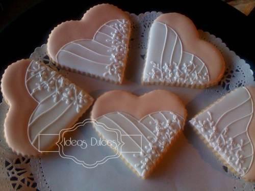 Galletas recordatorio para el matrimonio de Bibiana y Oscar