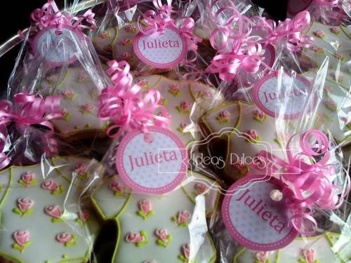 Galletas recordatorio para el Baby Shower de Julieta