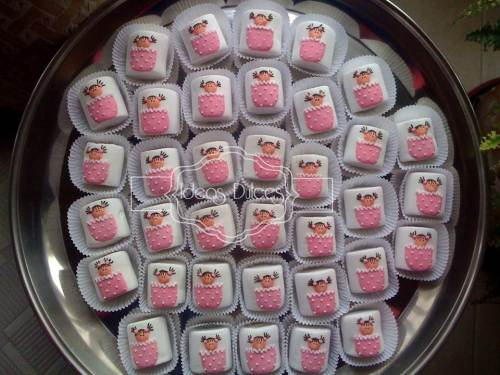 Masmelos para  el Baby Shower de la amiga de Silvia