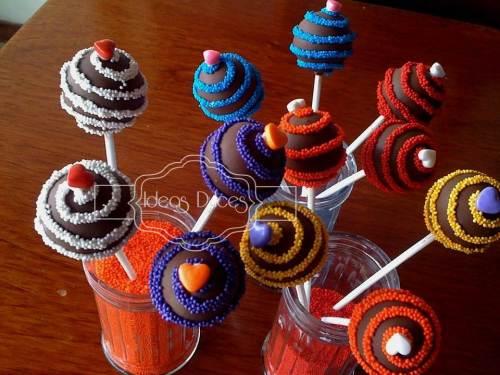 Cake Pops  para la celebración de Valentina