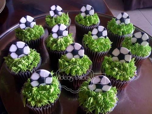 Cupcakes para el novio de Diana