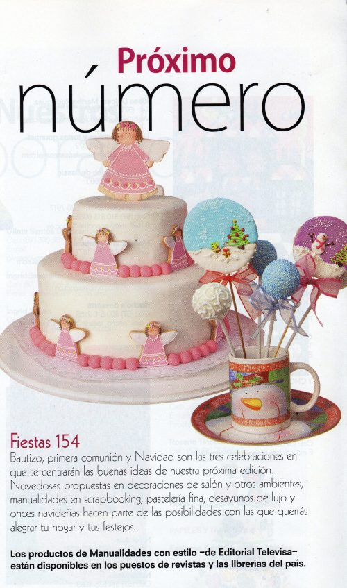 Avances de la próxima edición de la Revista Fiesta para el mes de Noviembre del 2012