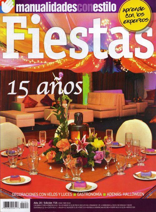 Revista Fiestas - Editorial Televisa - Octubre 2012.