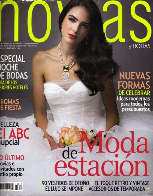 Revista Novias - Editorial Televisa - Septiembre 2012.