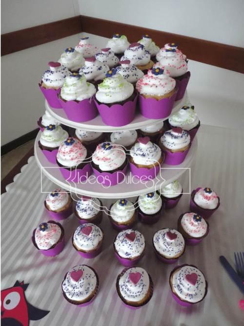 Cupcakes para el Baby Shower de Lola