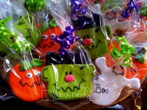 Galletas de Halloween para los alumnos de Camila