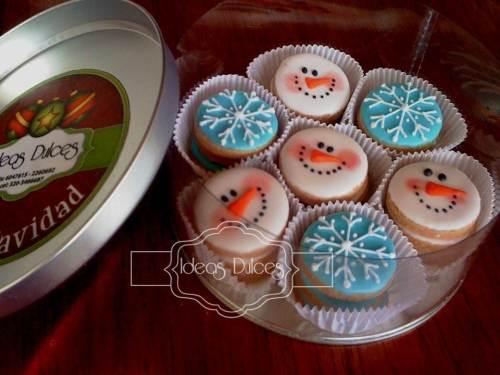 Cajas Mini-Galletas de Navidad - Edición Especial 2012