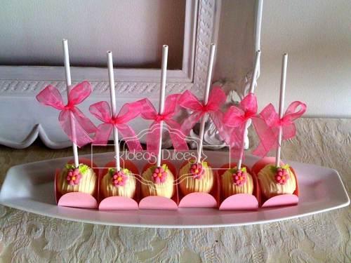 Cake Pops para Matrimonio