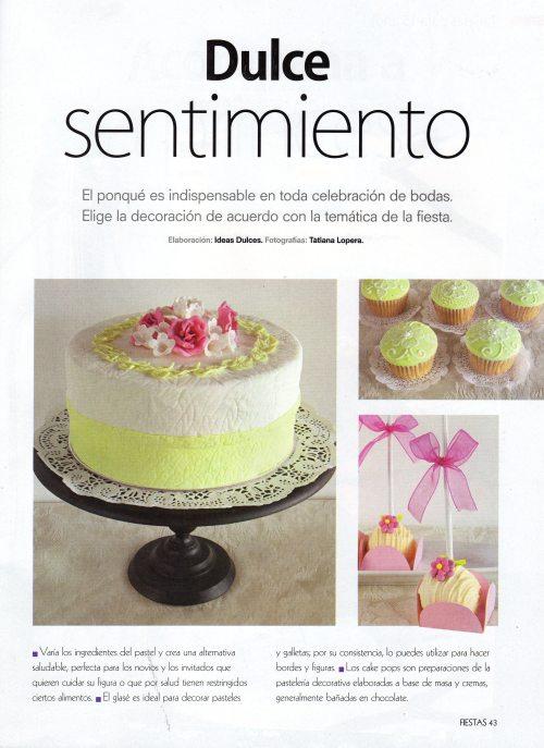 Ponqués de Boda- Cupcakes y Cake Pops - Revista Fiestas No. 157