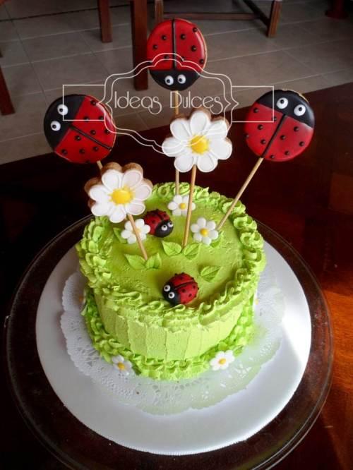 Torta de Mariquitas para Johanna