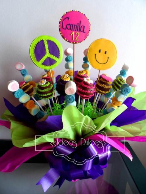 Arreglo para el cumpleaños de Camila