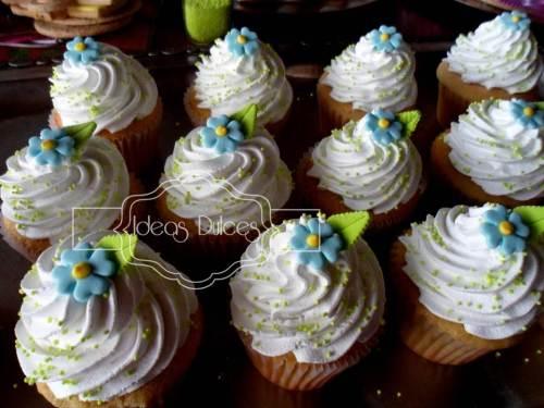 Cupcakes para el Cumpleaños de las hijas de Ingrid