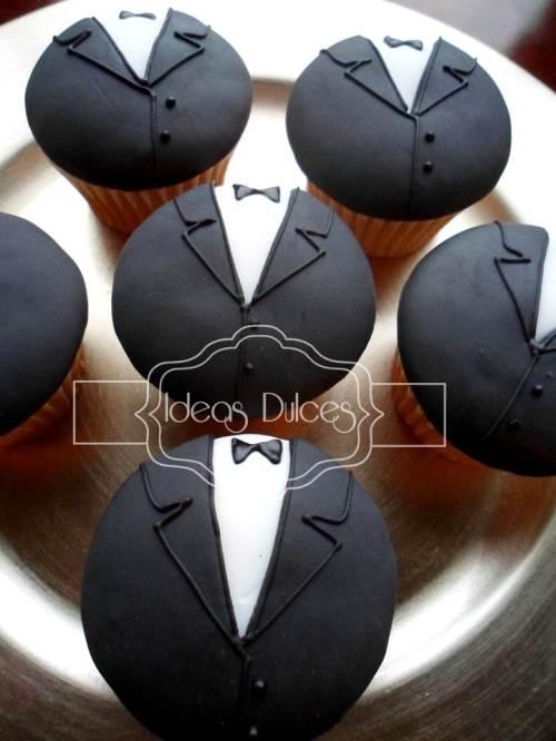 Cupcakes para el Matrimonio de Dina