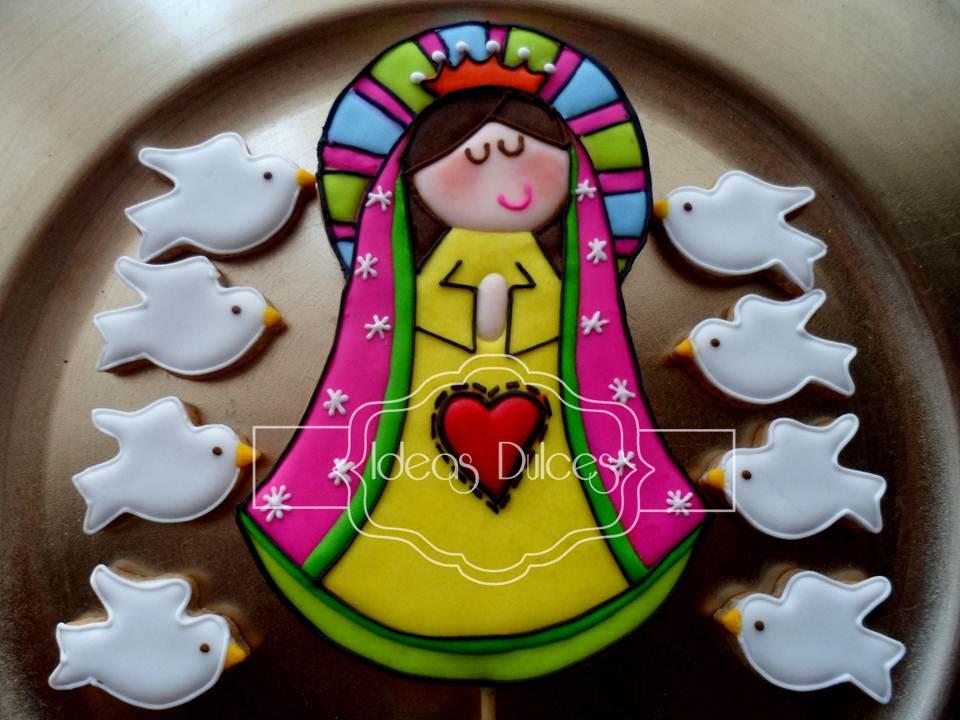 tortas de comunion virgencita porfis