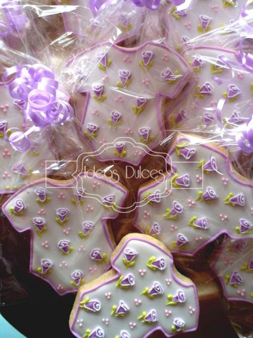 Galletas para el Baby Shower de Violeta
