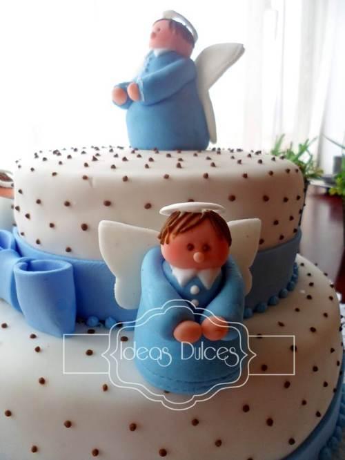 Torta de Angelitos para la Primera Comunión de Juan Fernando