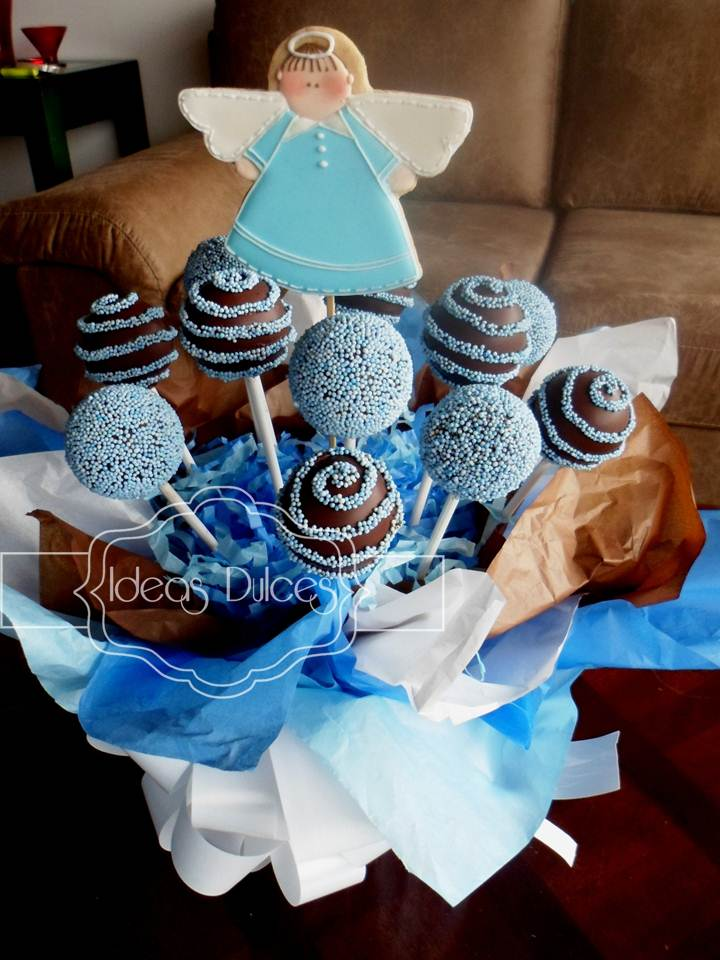 Pin Arreglo De Galletas Y Cake Pops Para El Cumple Mafe Cake On