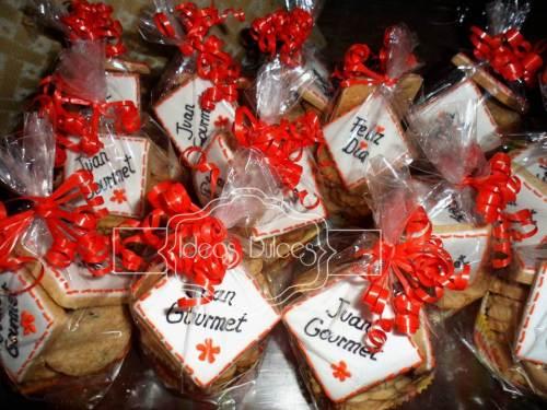 Galletas del Día de la Madre para el Restaurante JUAN GOURMET