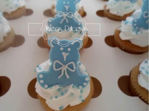 Cupcakes de agradecimiento encargados por Ma. José