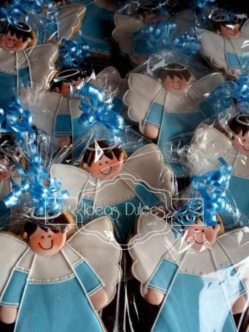 Un Bautizo con Angelitos Azules