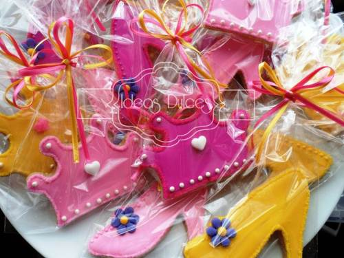 Galletas para fiesta de Princesas