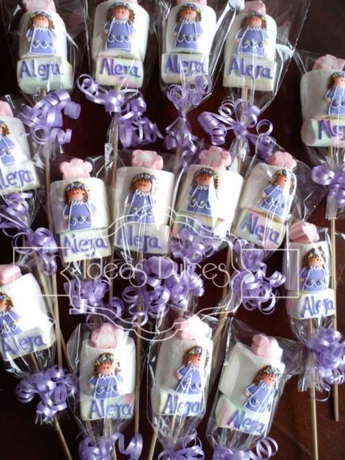 Masmelos de Angelitas para la Primera Comunión de